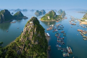 The more remote parts of Halong Bay in Vietnam are the place to escape the crowds.