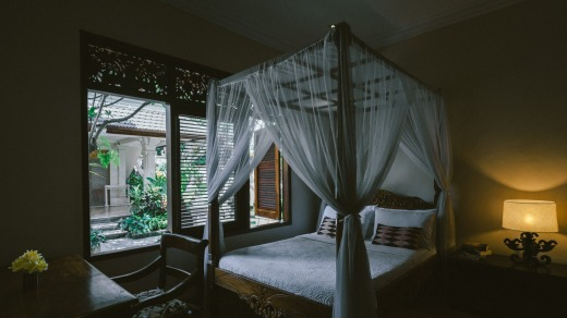 Honeymoon Guesthouse Rooms are comfortable and welcoming.