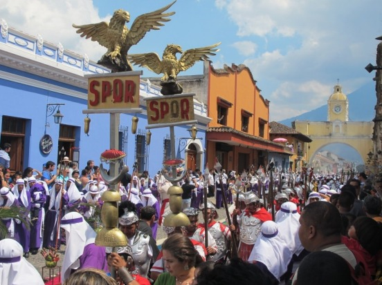 The Easter processions in Antigua, Guatemala, in April 2014 were very colourful to say the least. The processions ...