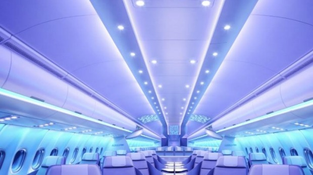 The aircraft interiors of the future revealed