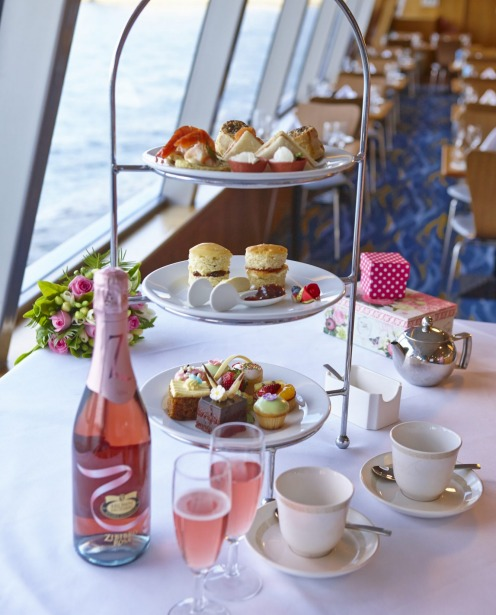 Afternoon tea on Captain Cook Cruises, Sydney. The views on this mobile high tea excursion threaten to outdo the tea ...