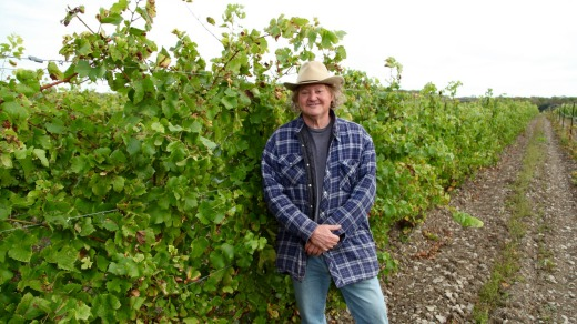 Dan Sullivan at his Rosehall Run winery.
