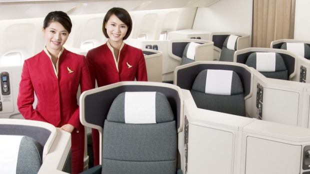 Airline Review Cathay Pacific Business Class Zurich To Hong Kong