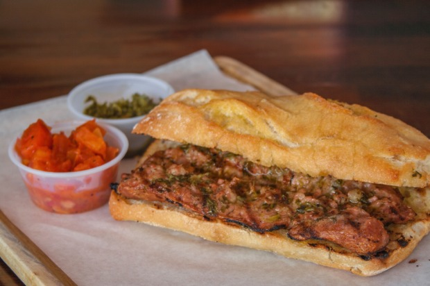 6. CHORIPAN, ARGENTINA: Every Argentinean football fan's favourite snack is the choripan, a grilled chorizo that's ...