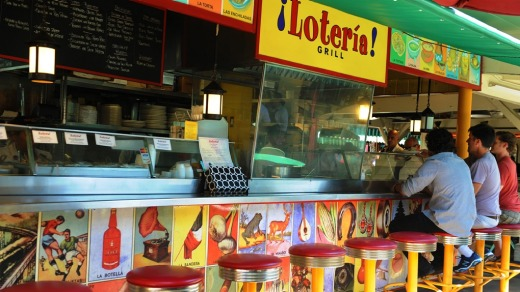 Loteria Grill at the Original Farmers Market in Los Angeles.