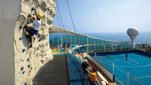 There's plenty of outdoors fun on Royal Caribbean's Voyager of the Seas.