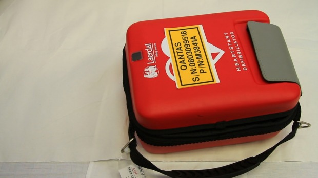 Qantas was one of the first airlines to introduce defibrillators on all its aircraft.