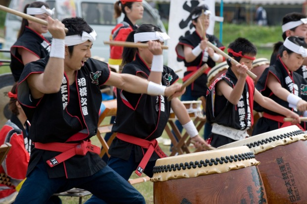 """SADO ISLAND TAIKO SCHOOL: Sado Island, in the Japan Sea, has been referred to as a """"floating treasure chest"""" of ..."""