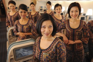 Singapore Airlines' flight attendants can't be faulted.