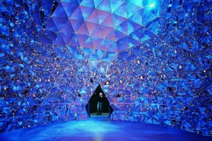 The Crystal Dome at Swarovski Crystal Worlds.
