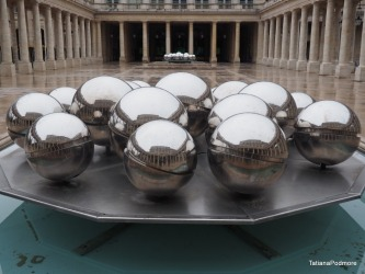 Beautiful Palais reflections A rainy day in Paris but walking is still a must. The royal Palais has this beautiful ...