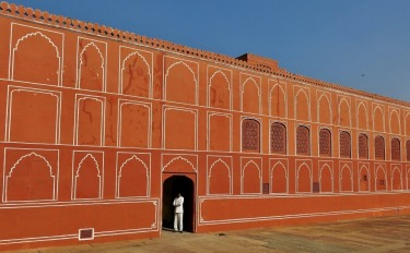 "Jaipur is the ""Pink City"" of India because all of the buildings are constructed with pink stone. To welcome visiting ..."