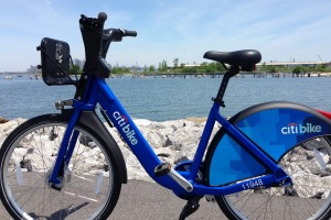 New York's Citi Bike bike-share scheme.