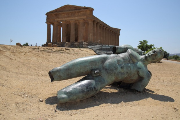 The Valley of the Temples, Agrigento, Italy: The cities founded by Greek colonists in Sicily became incredibly wealthy. ...