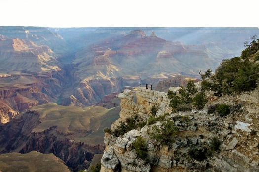 The Grand Canyon in Arizona, USA, is one of the most spectacular places I have visited. We walked the entire South Rim ...