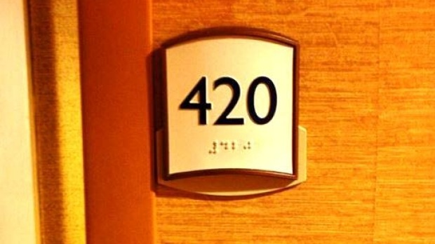 No it's not haunted or unlucky: The number 420, in any form, has become an attraction for a whole other reason.