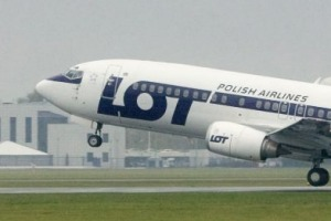LOT flies from London Heathrow to Warsaw three times a day.
