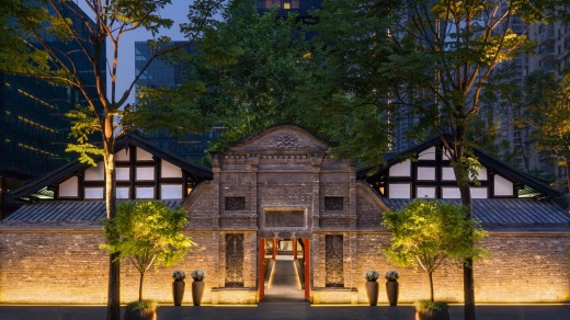 Temple House in Chengdu.