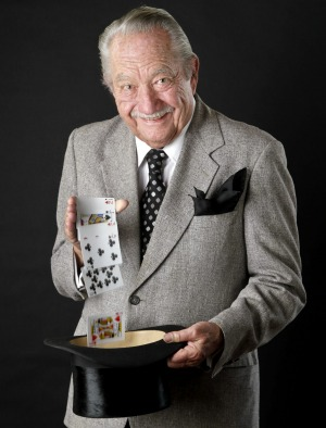 Milt Larsen, founder of Magic Castle.