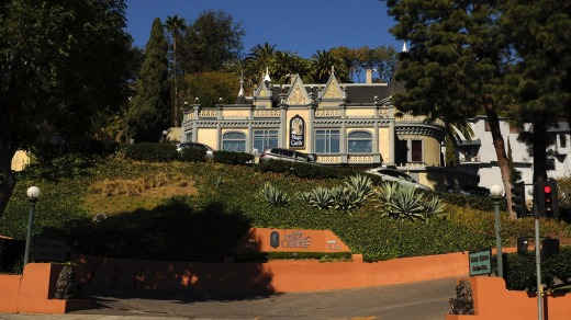 The Magic Castle in Hollywood, Los Angeles, California.