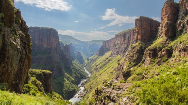Lesotho offers dramatic mountain scenery and no visa requirement for Australians.