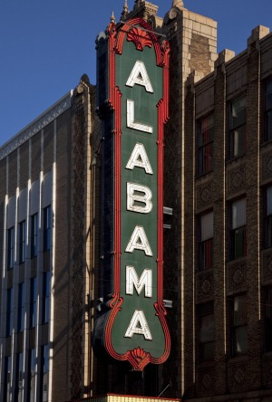 The Alabama Theatre.