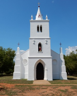Beagle Bay Church.