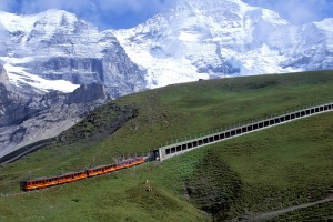 Jungfraus massif region near Bern, Switzerland.