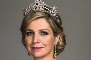 Queen Maxima of the Netherlands is to christen Holland America Line's  new flagship, MS Koningsdam.