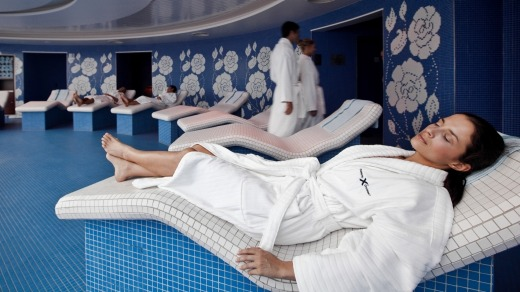 Spa fans will adore the many options available on Celebrity Solstice.