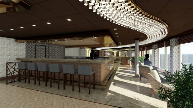 MSC Seaside specialty restaurant and Fusion Sushi