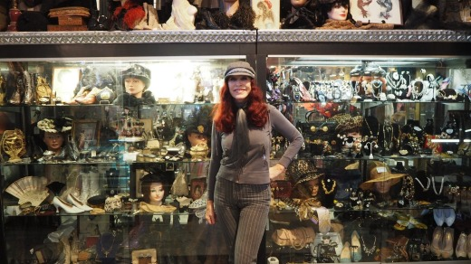 Stylish enterprise: Cicily Ann Hansen has been running a vintage store since the 1960s in San Francisco, which boasts ...