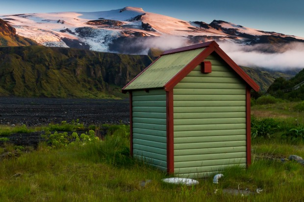 Iceland's Eyjafjallajokull volcano last erupted in 2010 - which won't feel that long ago when you're perched on this ...