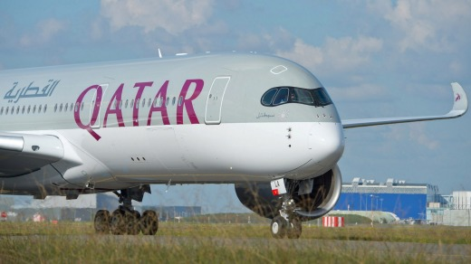 Qatar Airways' A350