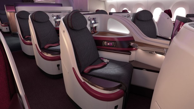 Airline Review Qatar Airways Airbus A380 Business Class Melbourne
