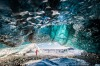 "After a rewarding hike to this ice cave, we were fortunate enough to be able to take our time taking images of ""Saphire ..."