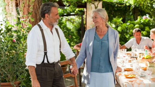 Vanessa Redgrave stars with Franco Nero in <i>Letters To Juliet</i>.