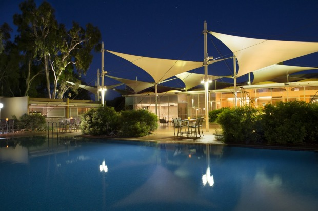 Ayers Rock Resort: Sails in the Desert.
