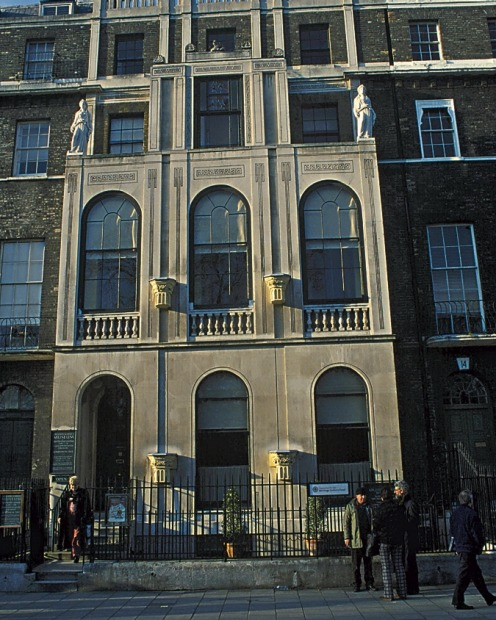 Sir John Soane's Museum, the home and collections of the eminent Georgian architect in London.