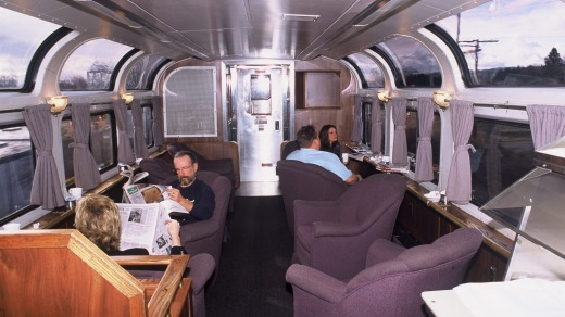 The Coast Starlight Parlour car