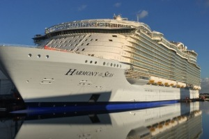 World's largest cruise ship, Harmony of the Seas.