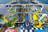Renderings of the new slides on Harmony of the Seas.