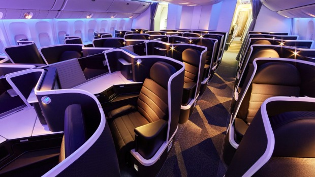 Virgin australia los angeles flights new business class premium virgin australias new business class cabin on board its boeing 777 publicscrutiny Image collections
