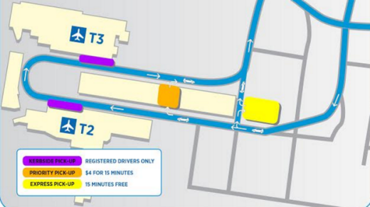 Sydney Airport Moves Free Pick Up Spot At Domestic
