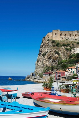 The little fishing ports in Calabria.