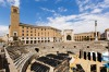 The Roman ruins of Lecce.