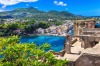 Buildings were damaged and one person killed when an earthquake hit Ischia, Italy.