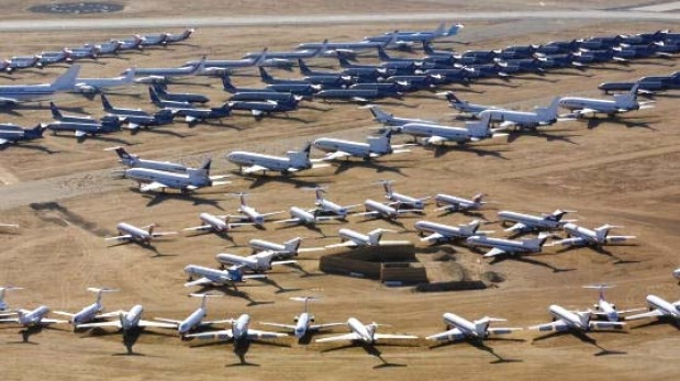 Aircraft graveyards: What happens to old planes?