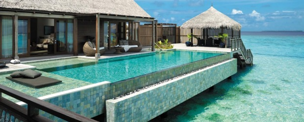 Shangri-La Villingili Resort & Spa in the Maldives.