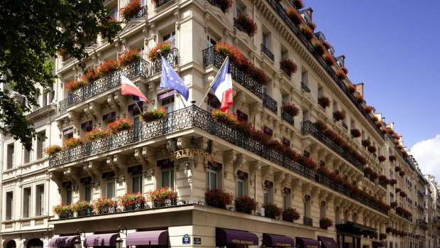 Hotel baltimore paris review paris hotel with the for Hotel baltimore paris